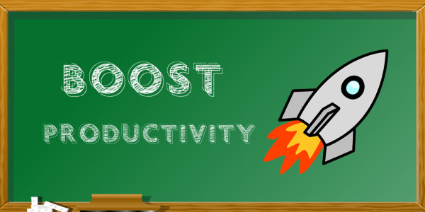 Boost productivy Create Free time